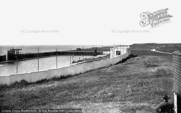 Barrow In Furness, Biggar Bank Swimming Pool 1934
