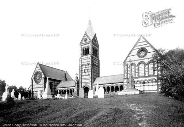 Barrow In Furness, Cemetery Chapel 1895