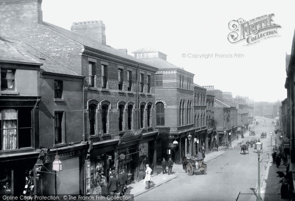 Barrow In Furness, Dalton Road 1895