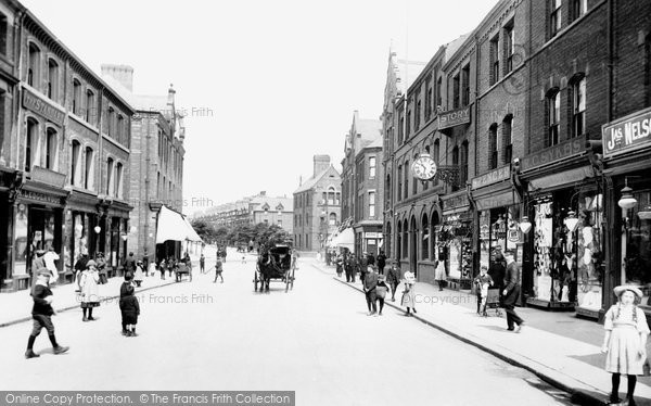 Barrow In Furness, Dalton Road 1912