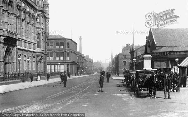 Barrow In Furness, Duke Street 1898