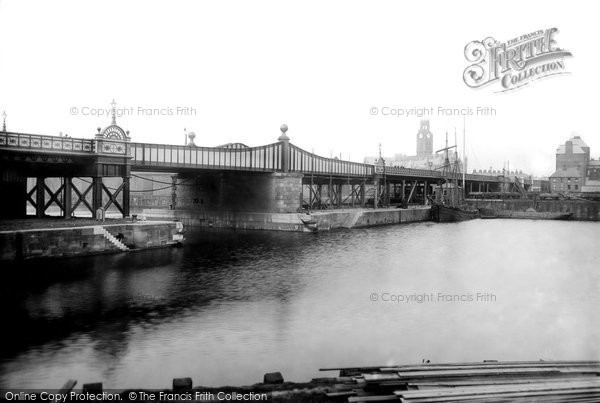 Barrow In Furness, High Level Bridge 1895