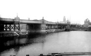 Barrow-In-Furness, High Level Bridge 1895