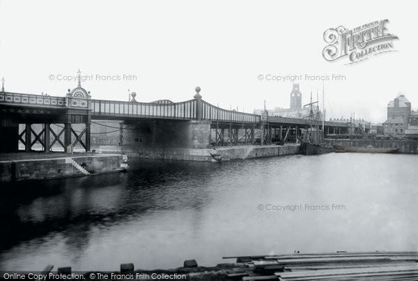 Barrow In Furness, High Level Bridge 1895