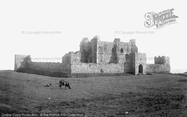 Barrow In Furness, Piel Castle 1893