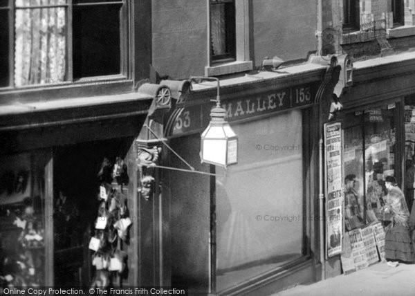 Barrow In Furness, Street Lamp, Dalton Road 1895