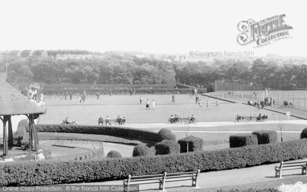 Barrow In Furness, The Bowling Green, The Park c.1955