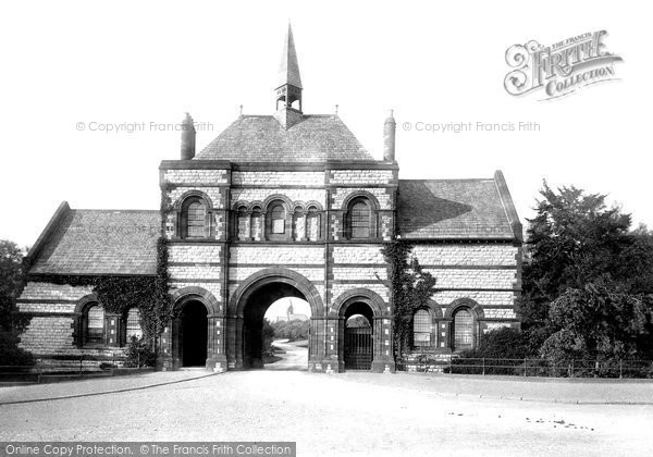Barrow In Furness, The Cemetery Entrance 1895
