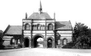 Barrow-In-Furness, The Cemetery Entrance 1895