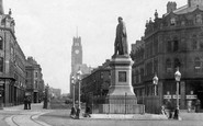 Barrow-In-Furness, The Statue, Ramsden Square 1893