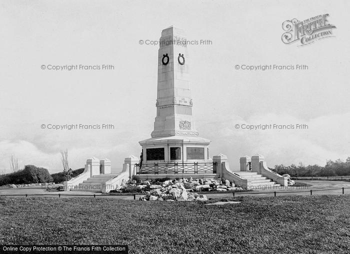 Barrow In Furness, The War Memorial 1924