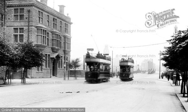 Barrow In Furness, Trams 1912