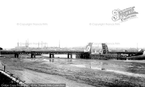 Barrow In Furness, Walney Bridge 1908