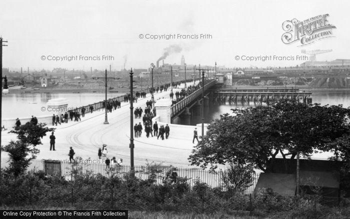 Barrow In Furness, Walney Bridge 1912