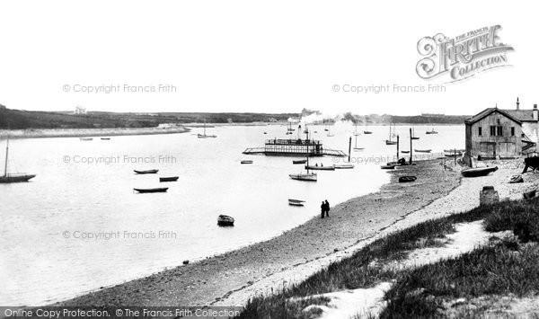 Barrow In Furness, Walney Channel 1898