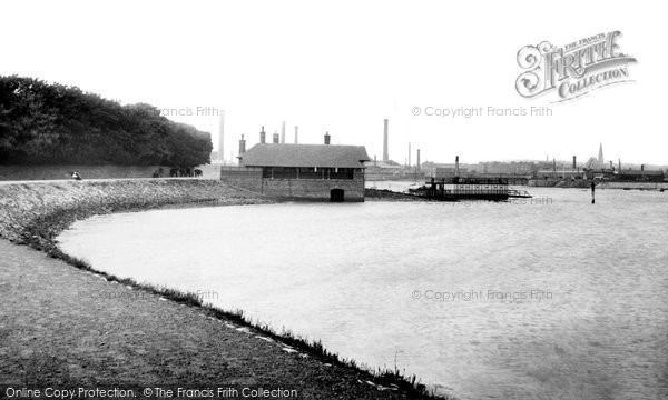 Barrow In Furness, Walney Ferry 1895