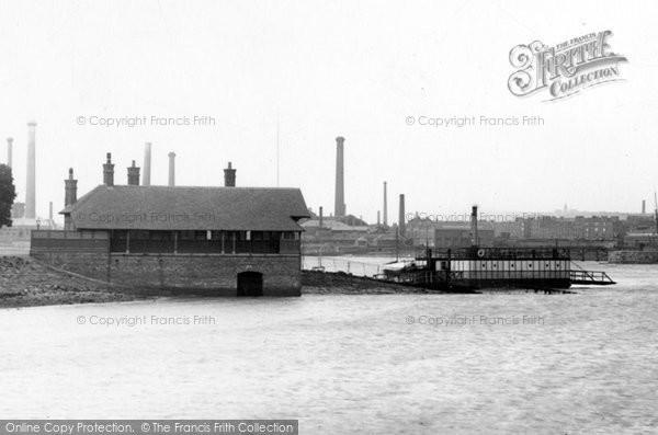 Barrow In Furness, Walney Ferry 1895