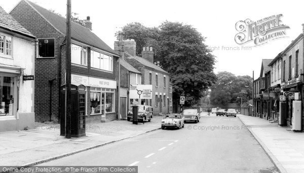 Barrow Upon Soar, High Street c.1965
