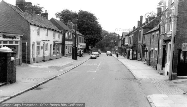 Barrow Upon Soar, High Street c.1965