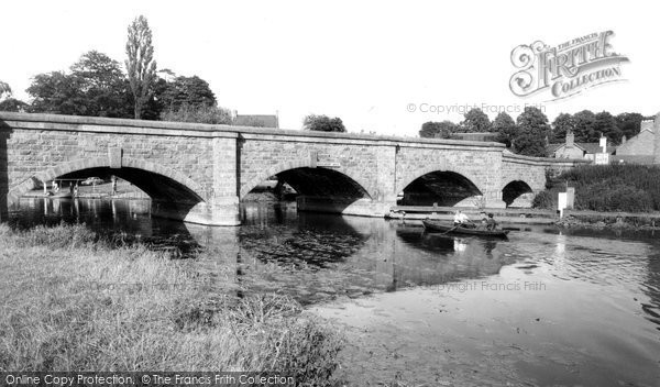 Barrow Upon Soar, The Bridge And River Soar c.1965