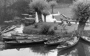 Barrow upon Soar, the River Soar c1955