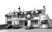 Barrowford, the White Bear Inn c1950