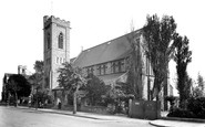 Barry, All Saints Church c1960