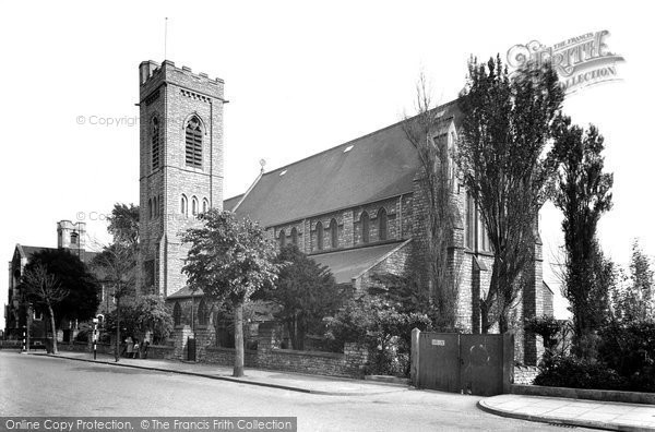 Photo of Barry, All Saints Church c1960