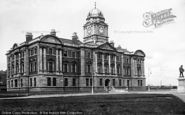 Barry, Dock Offices 1910