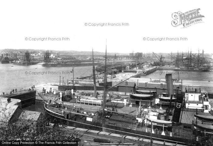 Barry Docks, 1899