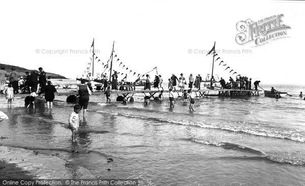 Photo of Barry Island, 'Paddling' 1925