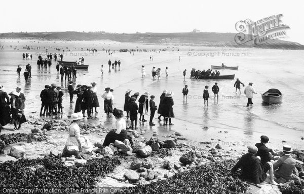 Photo of Barry Island, Whitmore Bay 1910