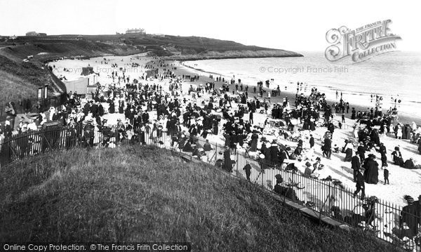 Barry Island, Whitmore Bay, The Sands 1910