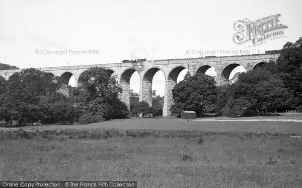 Barry, Porthkerry Railway Viaduct 1939