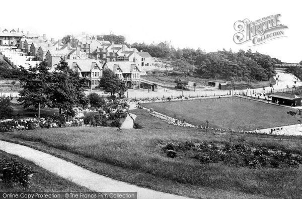Barry, Romilly Park 1910