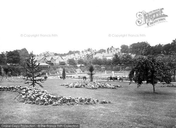 Barry, Romilly Park 1931