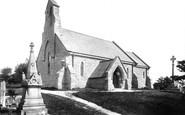 Barry, The Church Of St Nicholas 1899