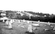 Barry, The Gorsedd Stones, 1920 Eisteddfod 1931