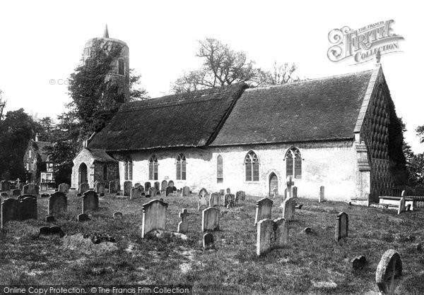 Barsham, Holy Trinity Church 1894