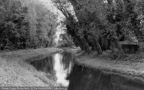 Barton Mills, The River Lark c.1955