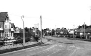 Barton On Sea, Barton Court Avenue c.1965