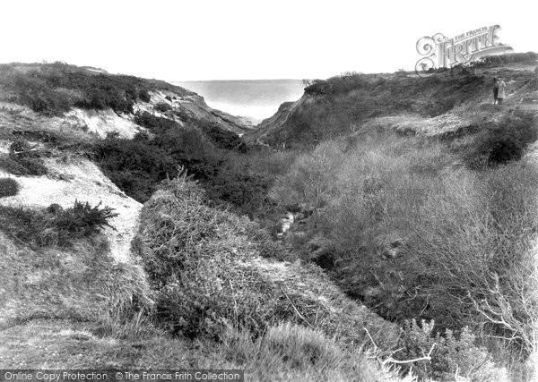 Barton On Sea, Becton Bunny c.1935
