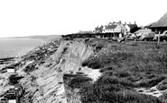 Barton On Sea, The Cliffs c.1960