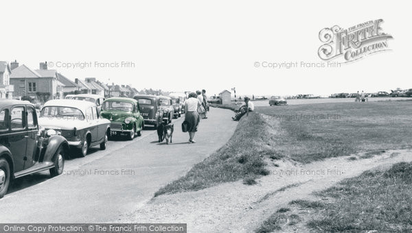 Barton On Sea, The Promenade c.1960