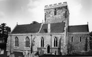 Barton Seagrave, St Botolph's Church c.1960