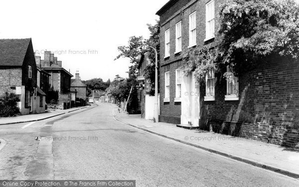 Barton Under Needwood, Main Road c.1955