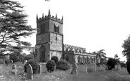 Barton Under Needwood, St James's Church c1955