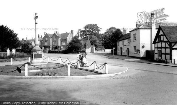Barton Under Needwood, The Memorial c.1955