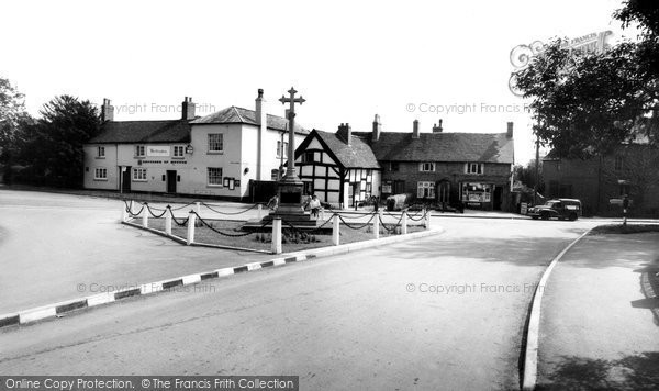 Barton Under Needwood, Village Centre c.1955