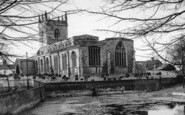 Barton Upon Humber, St Mary's Church c.1960